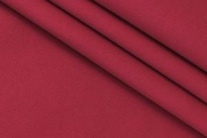Ткань габардин Италия (хлопок 100%, алый, ширина 1,55 м)