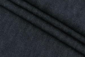 Ткань джинс Италия Loro Piana (коттон 100%, темно-синий, шир. 0,80 м)