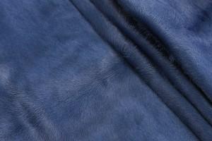 Кожа не стриженная опоек Италия (темно-синий, пони)
