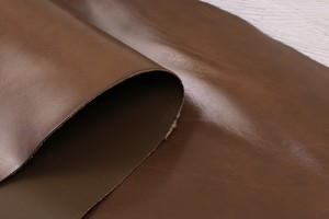 Кожа КРС Италия (двухсторонняя, коньяк, гладкая, толщина 2.1 мм)