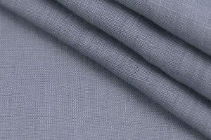 Ткань лен Италия (лен 100%, серый, шир. 1,45 м)