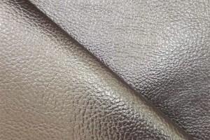 Искусственная кожа Venedik Bronze (поливинилхлорид 80%, полиэстер 13%, вискоза 7%, бронза, фактура, ширина 1,4 м)