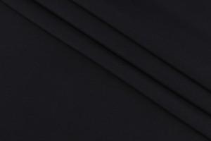 Ткань плащевка Италия (воздухонепроницаемая, полиэстер 100%, черный, шир. 1,50 м)