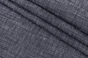 Ткань пальтовая Италия (коттон 100%, черно-белый, штрихи, шир. 1,50 м)