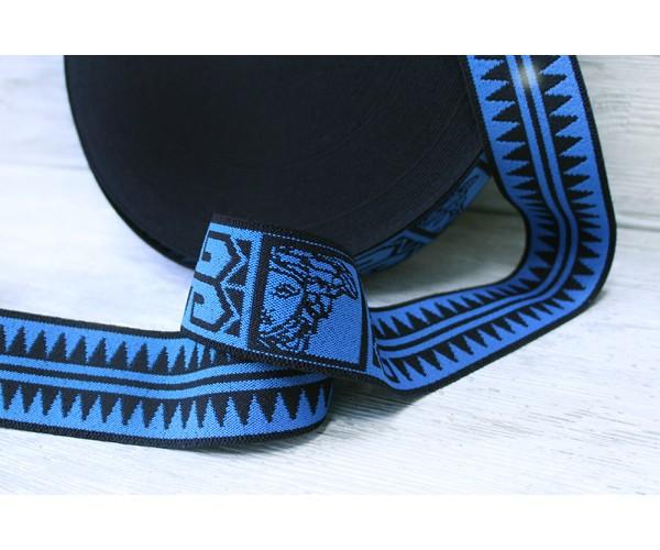 Резинка (черно-синяя, 5 см)
