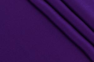 Ткань крепдешин Италия (шелк 100%, фиолетовый, шир. 1,36 м)