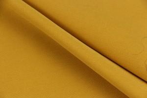 Ткань креп Барби Люкс (полиестер 98% эластан 2%, желтый, шир. 1,50 м)