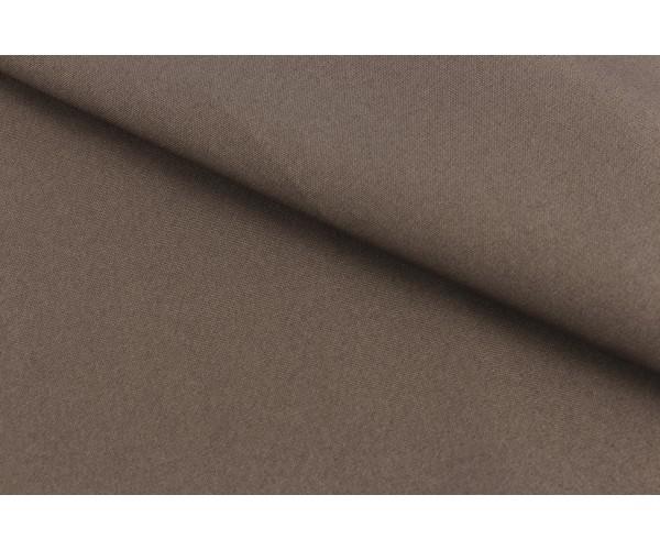 Ткань креп Барби Люкс (полиестер 98% эластан 2%, мокко, шир. 1,50 м)