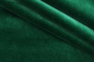 Ткань бархат (хлопок 98%, эластан 2%, зеленый, шир. 1,40 м)