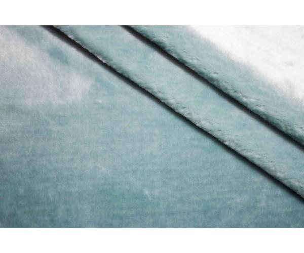 Мех искусственный Италия (мята с отливом, полиэстер 100%, шир. 1,65 м)