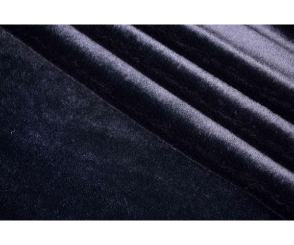Мех искусственный Италия (полиэстер 100%, черный, шир. 1,60 м)